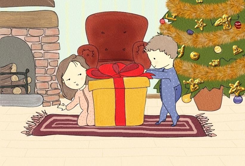 Christmas Card 4 29x21cm