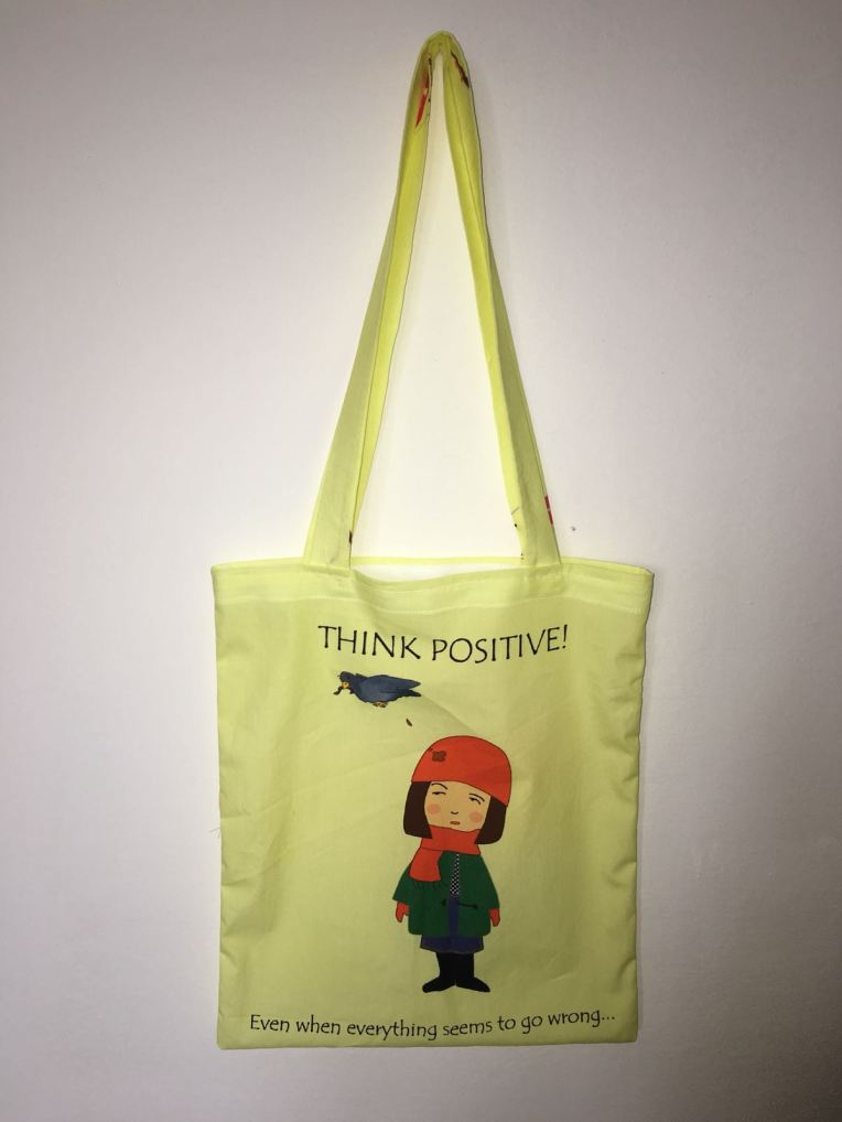 shopper think positive